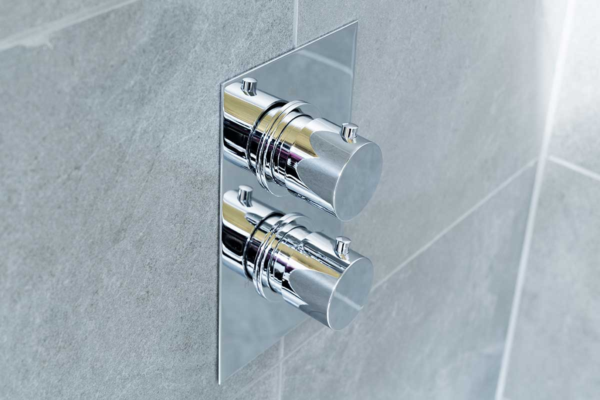 Luxury shower controls