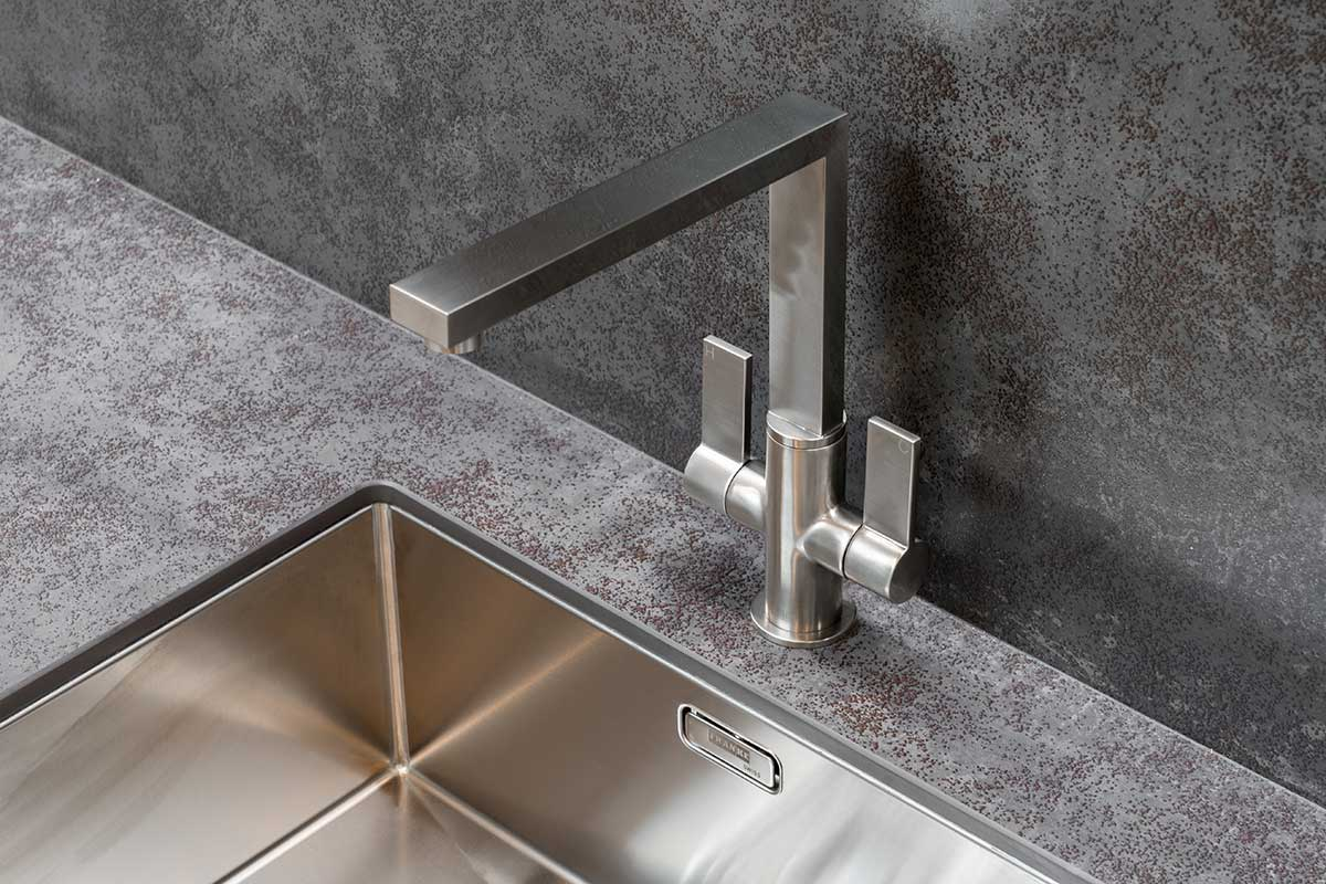 Luxury stainless steel tap